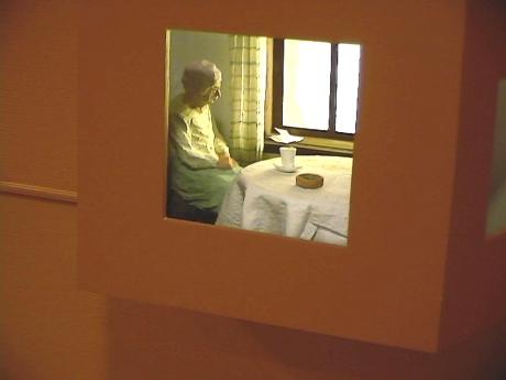 4 Mormor, utsmykning Grevle Aldershjem