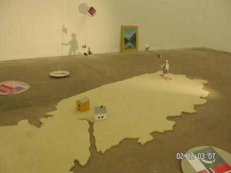 Installasjon , Galleri F15, Prosjektrommet 96-01
