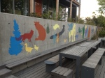 muralmaleri/ mural wallpainting FRYD barnehage, 2012